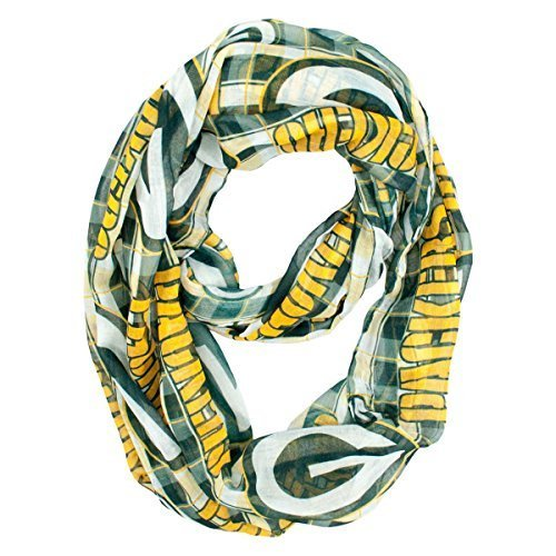 nfl-green-bay-packers-sheer-infinity-plaid-scarf-one-size-green-by-littlearth