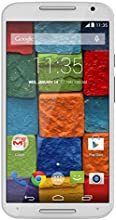Motorola Moto X (2nd generation) Unlocked Cellphone, 16GB, White/Bamboo (U.S. Warranty)