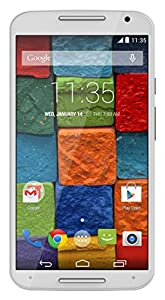 Motorola Moto X (2nd generation) Unlocked Cellphone, 16GB, White/Bamboo