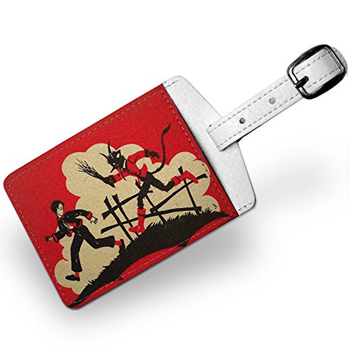 Luggage-Tag-Krampus-Knecht-Ruprecht-Travel-ID-Bag-Tag-Neonblond