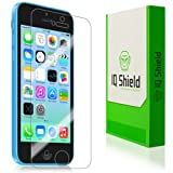 IQ Shield LIQuidSkin - Apple iPhone 5C Screen Protector Ultra Smooth Film + Lifetime Replacement Warranty