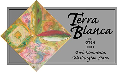 2001 Terra Blanca Estate Red Mountain Syrah Block 8 750 Ml
