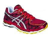 ASICS Gel-Kayano 20 Men's Running Shoes, Red/White/Yellow, UK6.5