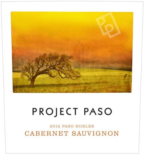 2012 Project Paso Cabernet Sauvignon, Paso Robles 750 Ml