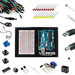Arduino Uno Ultimate Starter Kit -- Includes 72 page Instruction Book