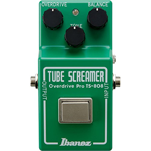 Ibanez Tube Screamer Pro Ts808 35Th Anniversary Deluxe Overdrive Guitar Effects Pedal