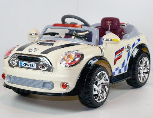 Ride On Toy Mini Cooper Style Car New Power Ride On Toy Electric Car With Mp3 Connection 2 Motors And 2 Battery