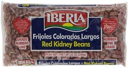 Iberia World Foods Beans Kidney Lt Red Dry 12-Ounce Pack of 24
