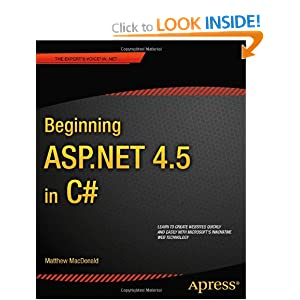 Beginning ASP .NET 4.5 in C# 5th Edition (Beginning Apress)
