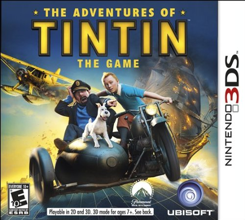 The Adventures Of Tintin: The Game - Nintendo 3DS - 1