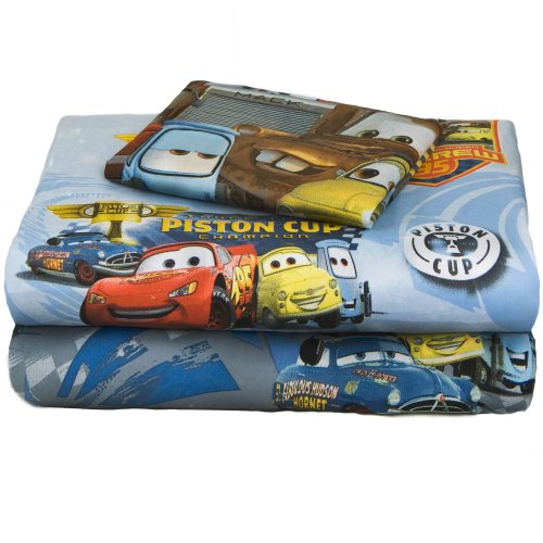 new disney lightning mcqueen race cars piston cup champion twin bed