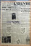 Lit Metal OEUVRE   du 21/10/1938