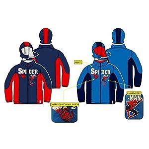 Parka Spiderman Marvel surtido 3(2)-4(2)-6(2)-8(2)