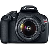 Canon EOS Rebel T5 DSLR Camera Bundle with EF-S 18-55mm f/3.5-5.6 IS II Lens, Carrying Case and Accessory Kit (19 Items)