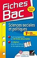 Fiches Bac Sciences sociales et politiques Tle ES: Fiches de cours - Terminale ES