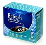 Refresh Contacts Single Dose Eye Drops 20 x 0.4ml