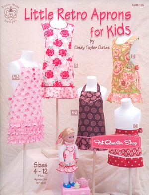 Little Retro Aprons for Kids (Cindy Taylor Oates Sew compare prices)