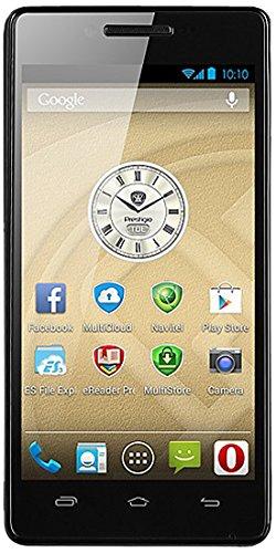 Prestigio MultiPhone 3451 Smartphone débloqué (4.5 pouces - 4 Go) Noir (import Espagne)