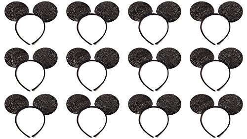 Mickey Mouse Ears Sparkle (Lot of 12)