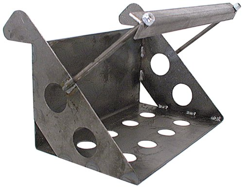 "Allstar ALL76100 11-3/4"" Wide x 7-1/4"" Deep Lightweight Steel Battery Mounting Box"