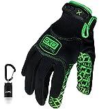 Ironclad EXO-MGG-04-L Motor Grip Gloves, Large
