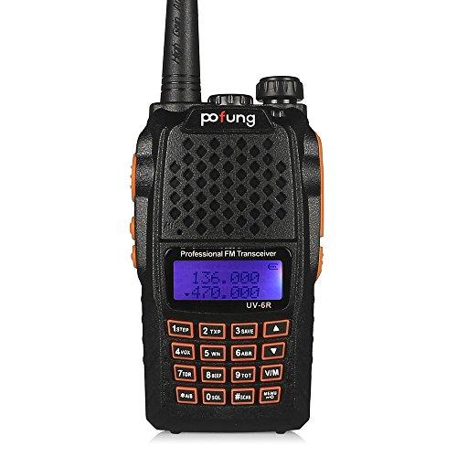 Pofung UV-6R アマチュア無線機 トランシーバー UV-5Rが進化