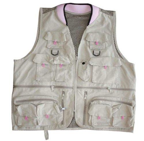 Prestige women 39 s alpine fishing vest pink small 2012 for Womens fishing vest