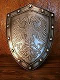 中世ヨーロッパ 西洋風 騎士の盾 アンティーク調 装飾品 オブジェ 戦士の盾 シールド [並行輸入品]