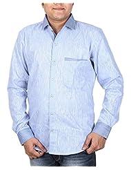 BLACK & WHITE Men's Slim Fit Shirt
