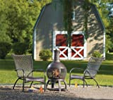 "Living Accents Chimnea Cast Iron Cast Iron Firept 47""H x 22""W"