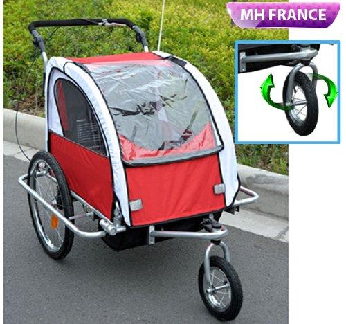 remorque jogger poussette promotion 123 remorque. Black Bedroom Furniture Sets. Home Design Ideas