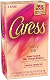 Caress Daily Silk Beauty Soap Bar for Unisex, 6 Count