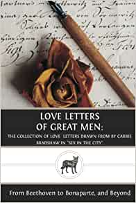 Carrie Bradshaw Book Love Letters