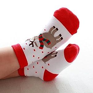 Toddler Baby Boy Girl Christmas Socks Gifts