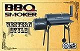 Barbecue BBQ Smoker im Western Style - Gartengrill - Räuchern & Grillen ohne Krebsgefahr!!! TÜV / GS geprüfte Sicherheit