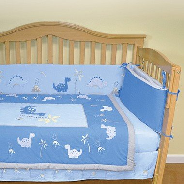 Iplay Origins Organic Cotton Crib Set (Blue)