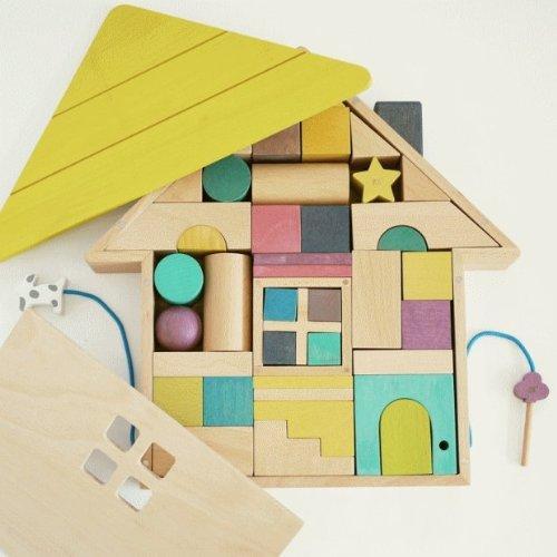 tsumiki(積み木)木の玩具 ドイツ gg kiko