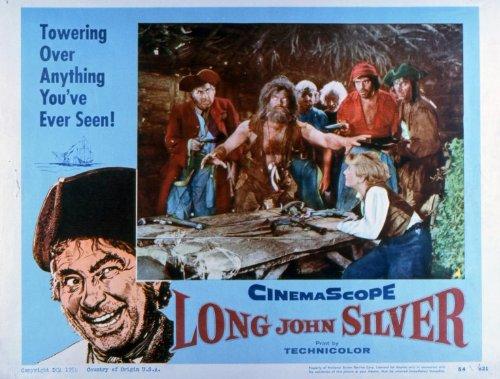 long-john-silver-poster-11-x-14-inches-28cm-x-36cm-1954-style-b
