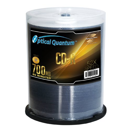 Optical Quantum LightScribe Gold 52