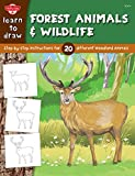 img - for Learn to Draw Forest Animals & Wildlife: Step-by-step instructions for 25 different woodland animals (Learn to Draw (Walter Foster Paperback)) by Robbin Cuddy (Illustrator) (15-Oct-2012) Paperback book / textbook / text book