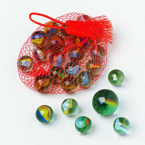 New Super Pack Marbles Shooter Drawstring