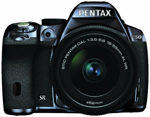 RICOH デジタル一眼レフ PENTAX K-50 DAL18-55mmWRレンズキット メタルネイビー/ブラック 100 K-50 L18-55WR KIT METAL NAVY/BLACK 100 11254