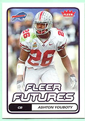 Ashton Youboty 2006 Fleer Rookie #107 - Buffalo Bills