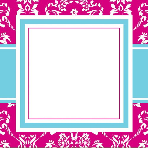 Three Designing Women Designer Gift Tags, Pink Toile Collection front-454539