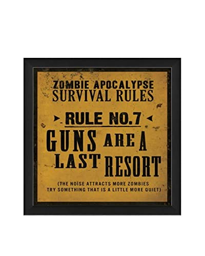 The Artwork Factory Survival Rule No. 7 Print