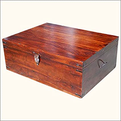 Sierra Nevada Solid Wood Coffee Table Trunk