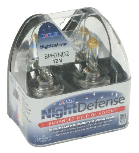 Wagner H7 Nightdefense Headlight Bulbs, Pack Of 2