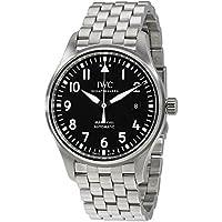 IWC Pilot Automatic Black Dial Mens Watch
