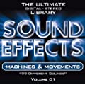 Sound Effects Vol. 1 - Machines and Movement