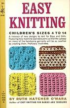 Easy Knitting, Children's Sizes 4 to 14…